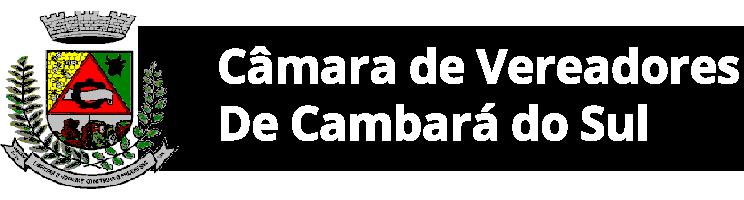 Logotipo da Câmara de Cambará do Sul telefone